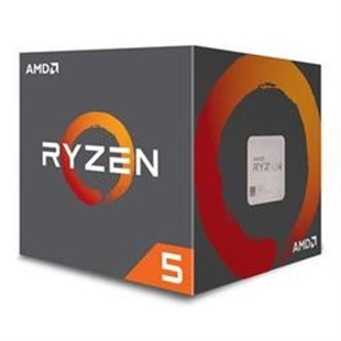 AMD Ryzen 5 2600 3.4/3.9GHz  Vgasız 16MB 12nm  Fanlı AM4