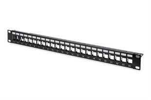 DIGITUS 24 PORT Boş Patch Panel, Zırhlı, 1U