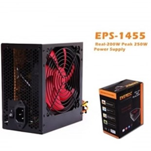 EVEREST EPS-1455 200W (Peak250W) 12cm Fanlı Power Supply