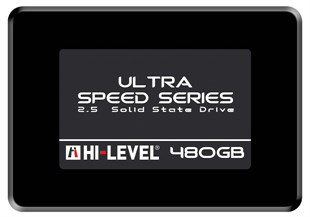HI-LEVEL 480 GB 550/530MB/s + APARAT SATA3 ULTRA  SSD