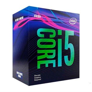 INTEL i5 9400F 2.9GHz VGAsız, Fanlı 9MB 65W  Box 1151p