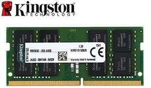 KINGSTON Sodimm 8 GB 2666MHz DDR4 CL19 SR 1Rx8 Notebook Rami