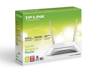 TP-LINK TL-MR3420 300Mbps 3G/4G Wireless N Router