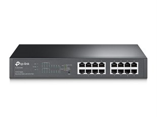 TP-LINK TL-SG1016PE 16 Port (8 Port 110W PoE) 19 Gigabit Switch