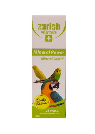 Zurich Kuşlar Mineral Power 30 ml