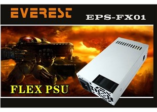 EVEREST EPS-FX01 SLIM M.ATX 200-250W Power Supply